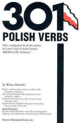 301 Polish Verbs By Janecki, Klara
